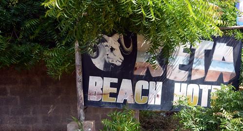 beach hotel advertisement