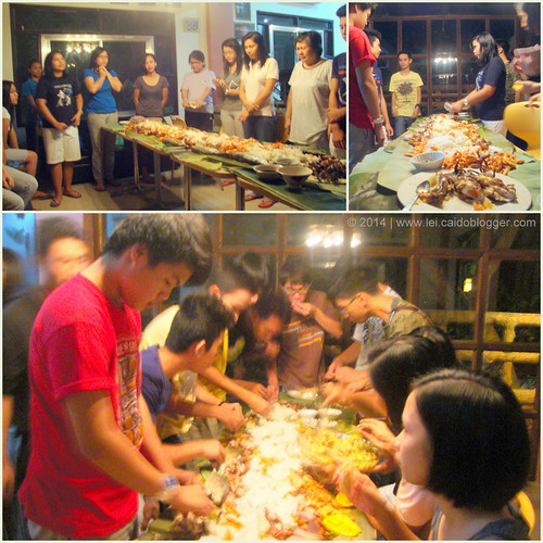 2014 yp outing - boodle fight