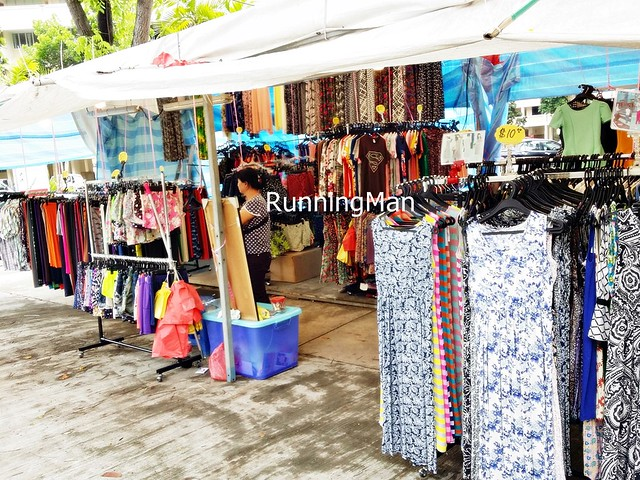 Pasar Malam Night Market 12 - Clothing Stall