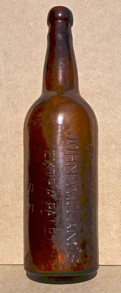 pre- 1890s beer bottle