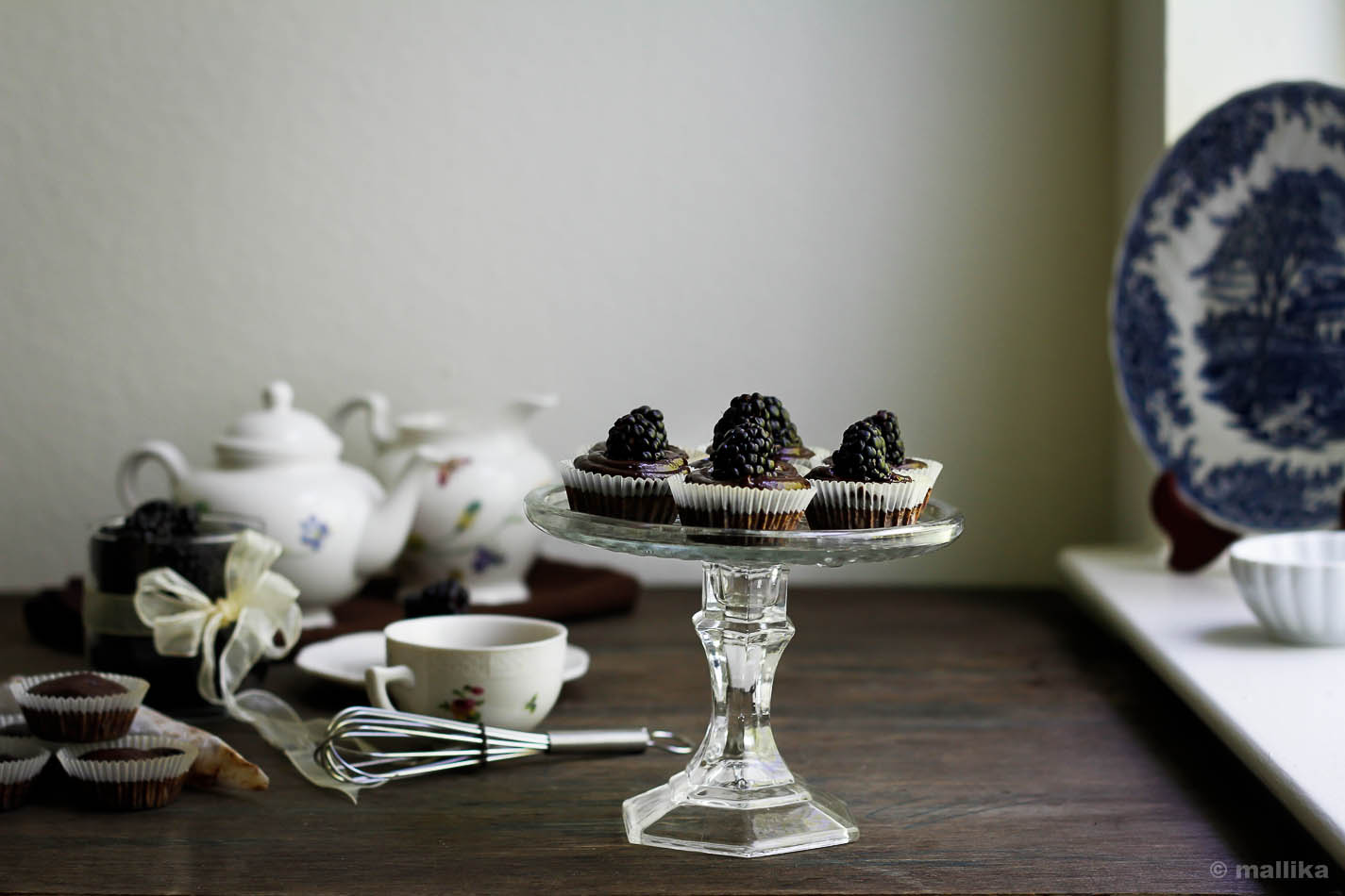 Blackberry Brownie Cupcakes_7