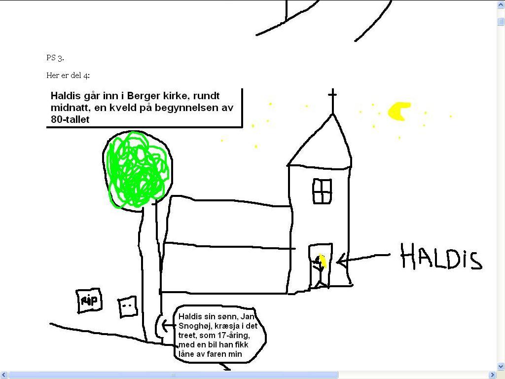 berger kirke tegning