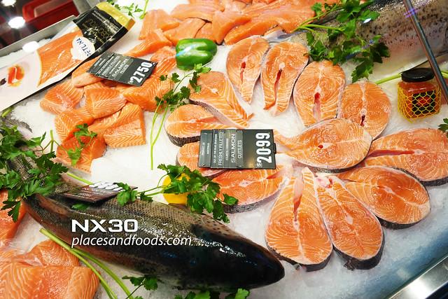 melbourne day 2 salmon victoria market