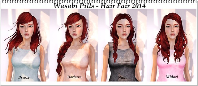 Hair Fair 2014 - Wasabi Pills
