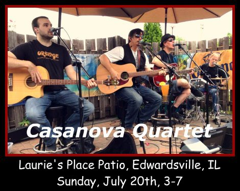 Casanova Quartet 7-20-14