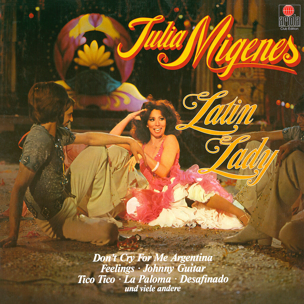Julia Migenes ‎– Latin Lady