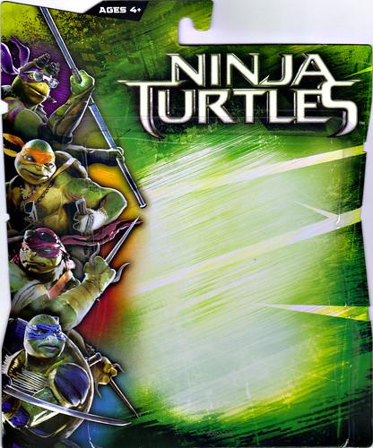 """NINJA TURTLES"" Movie :: FOOT SOLDIER ..card backer i (( 2014 ))"