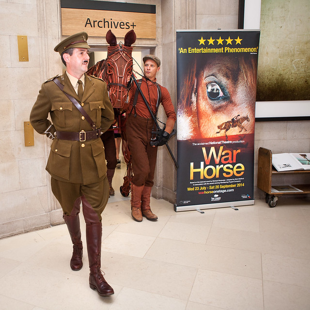 War Horse Up Close 26/07/2014
