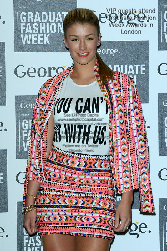 2014-06-03 VIP guests attend Graduate Fashion Week Awards in London