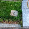 ? #notart #streetart #somerville #unionsquare #stencils #found #grass #unionsquare #thoughts