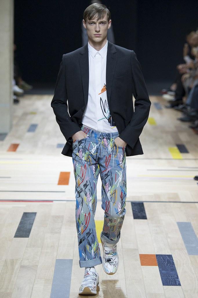 SS15 Paris Dior Homme041_Tommaso de Benedictis(VOGUE)