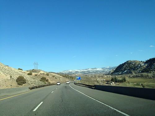 usa america highway colorado driving 美國
