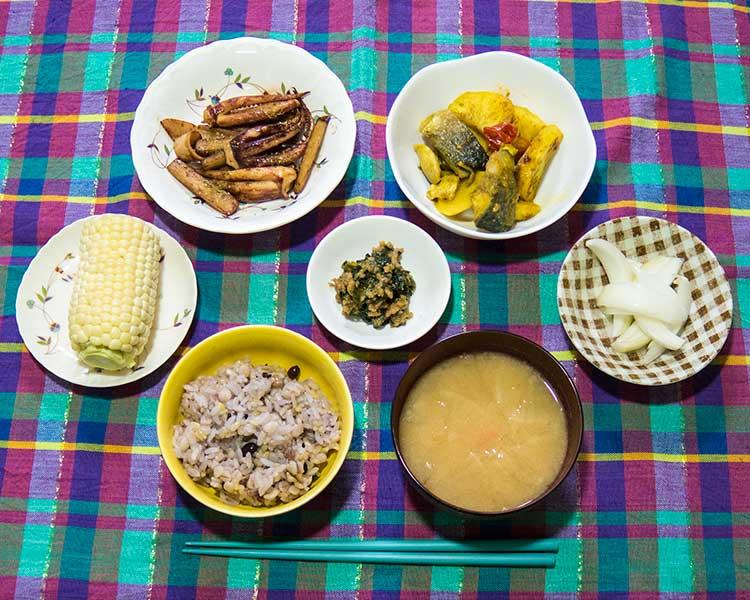 2014年8月4日の晩ご飯