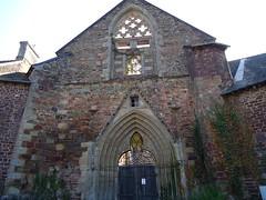 Abbaye Saint Jacques à Montfort sur Meu