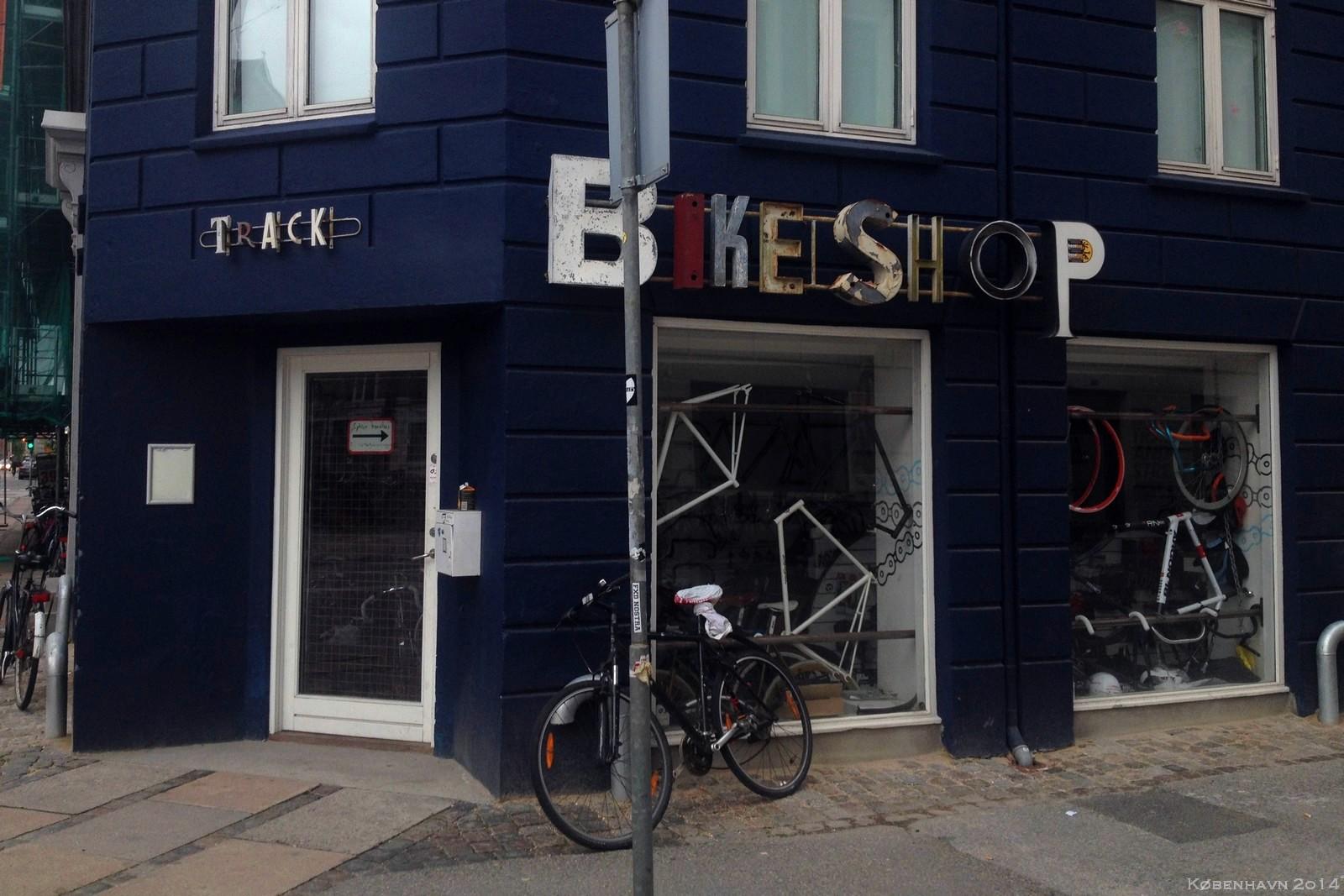 Bikeshop, København, Denmark