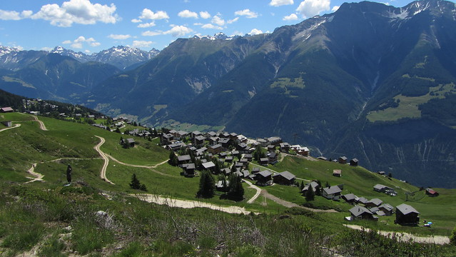 Riederalp below