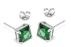 body jewelry, jewellery, gemstone, emerald, silver, earrings,