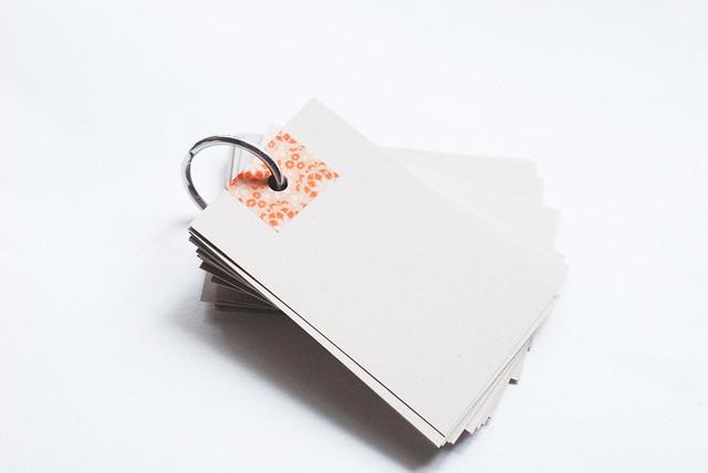 Washi Note Ring