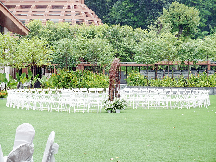 Equarius Hotel garden wedding