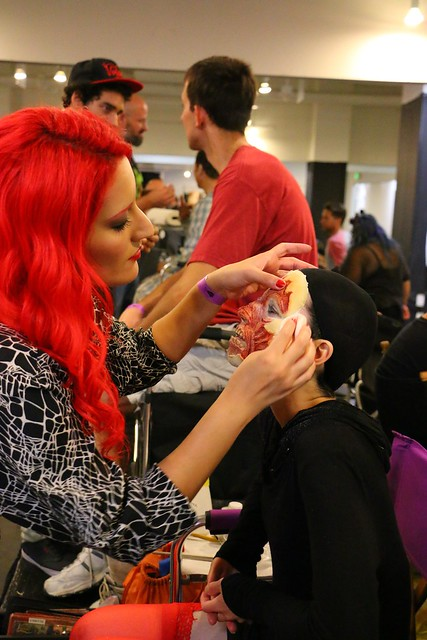 Cosplay and makeup at ScareLA 2014