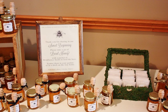 DIY Honey Jar Wedding Favors {Wedding Wednesday} - Life at Cloverhill