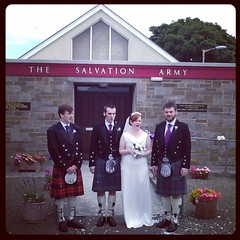 A beautiful day for a wedding #familywedding #orkney