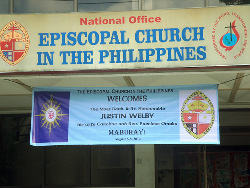 Abp Welby Visit to the Philippines 2014