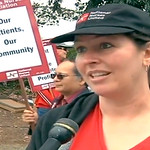 Nurses Go on Strike at the Watsonville Community Hospital