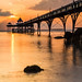Last night's delight-Clevedon Pier, Somerset. Flickr Rank, #1  year 2014 - group DM's Lair by Photography by Julia Martin
