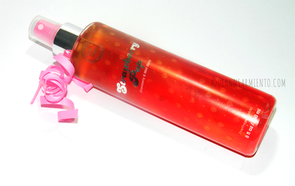 Unboxing July BDJBox 2014 Pure and Simple Pink Sugar Fine Fragrance Mist Fruity Collection