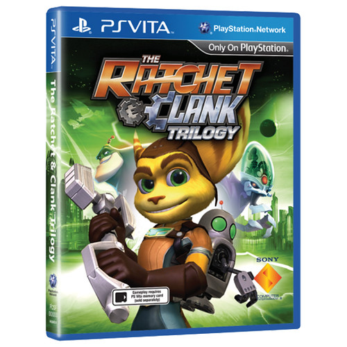 Ratchet & Clank Trilogy HD PS Vita - Packshot