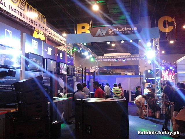 Inside the JB Music Exhibit Booth