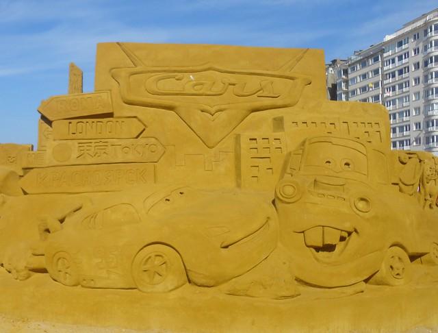 Sculpures sur sable Disney - News Touquet p.1 ! 14770246239_c0cb5be3a6_z