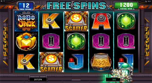 free RoboJack free spins