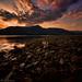 Sunset over Bunree & Loch Linnhe