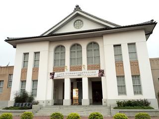 Image of 鹿港公會堂. landscape hall photo spring cloudy taiwan historical gps 台灣 彰化 appleiphone5s