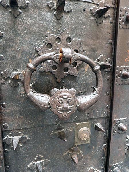 heurtoir porte palais