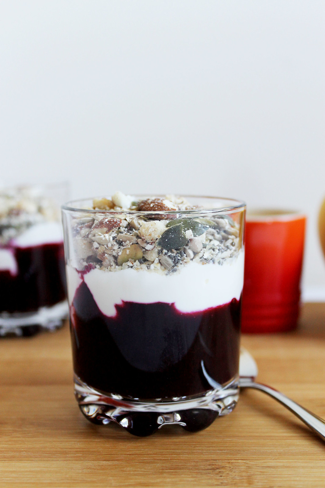 Low Carb Yoghurt Parfait
