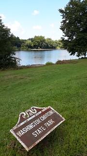 The Delaware River where George Washington crossed