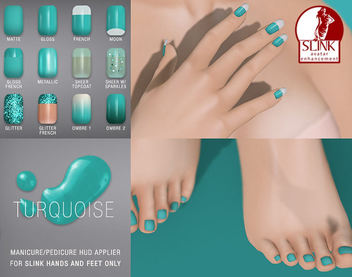SLINK-nails-Turquoise