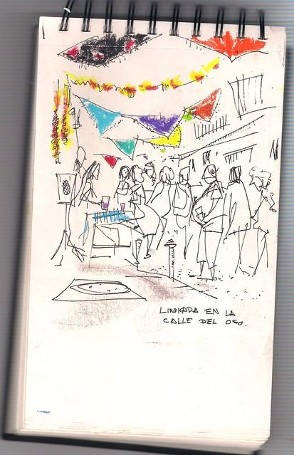 """""""limonada"""" en la calle del Oso, Madrid"""