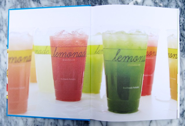 Flavoured Lemonades from The Lemonade Cookbook