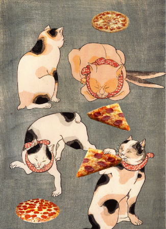 Pizza Hut in Japan is Run by Cats