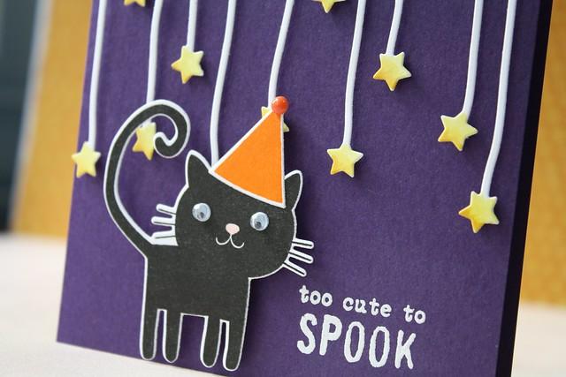 PTI~Happy Spooky Halloween, Dangled Stars dies