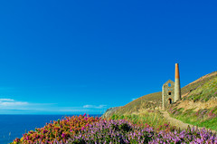 Towanroath shaft, Wheal Coates, St Agnes, Cornwall