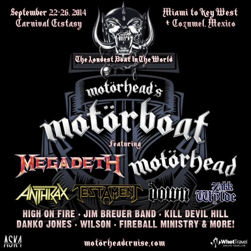 09/22 - 26/14 Motorhead's Motorboat - Miami to Key West & Cozumel, Mexico