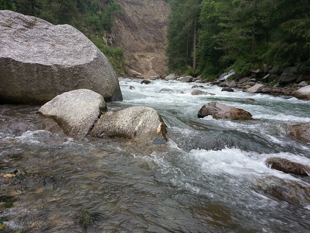 With Uhl river in Barot