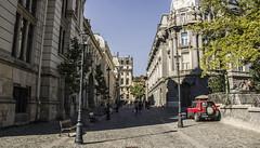 A walk through the old center of Bucharest
