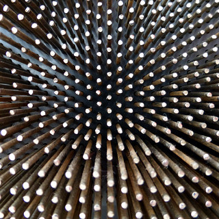 concave pins