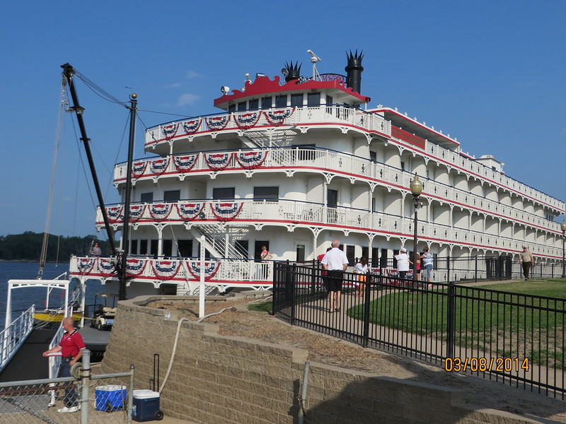 Queen of the Mississippi, Hannibal, Missouri